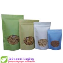 ziplock plastic bag kraft paper bag