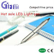Colorful promotional Aluminum flashlight pen
