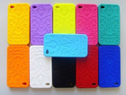 rainbow color available practical silicone phone case