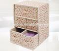 venta al por mayor de cartón decorativo cajón caja de almacenamiento