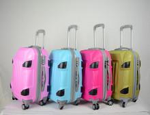 girls travel luggage trolley