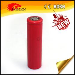 Original Sanyo 18650 battery for e-cigarette high capacity 3400ma rechargeable battery