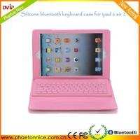 Fashion leather portfolio tablet keyboard case for ipad 6 air 2 alibaba english