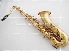 Tenor saxophone, golden lacquer