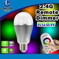 Led rgb controle wifi lâmpadas/mudança da cor lâmpadas led/lâmpada led rgb controle remoto