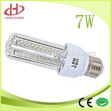 Hot Sale U shape 7w LED Corn light bulb