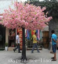 q102446 bahçe süs çiçek bitki yapay kiraz çiçeği ağacı