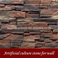 pedra da cultura artificial de pedra interior exterior de pedra do falso cimento pedra pedra pedra ardósia