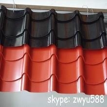 Manufacturer of color coated steel iron metal roofing tile/sheet