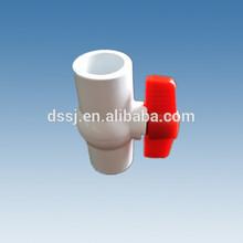 New desig hot sell long round handle pvc ball valves, 2 inch pvc ball valve, octagonal pvc ball valve