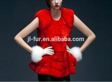 Hot Sale Nature Mink Fur Coat with Top Quality Mink Pelt for Winter