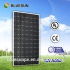 Chinese manufacturer company supply 25years warranty TUV/CE/UL/ISO ceritificate 300w monocrystalline solar panel price per watt