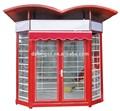 Ningbo datang prefab8 rue détail d-b106 kiosque en plein air