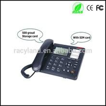 gsm fixed wireless desktop phone telephone with sim