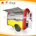 2014 customized snack koisk fried fast food street mobile kitchen trailer