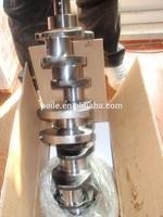 Forged steel crankshaft and ductile cast iron for engine model ISUZU C190 5-1230-188-0