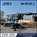 Dfr-10w completamente idraulica del camion montato vite di battipalo con cabina