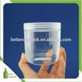 300ml 300g sugar rub plastic jar for coconut milk or honey