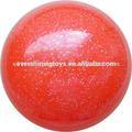 Pvc enfants 20cm balle paillettes, boule brillante, flash ball