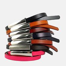 Paris fashion woman belts metal buckle genuine leather belts LB3450