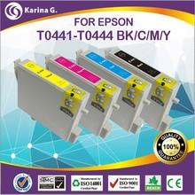 for epson refillable inkjet cartridge / refillable for epson cartridge T0441 / refillable cartridge for epson T0441