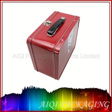Wholesales PVC box,lid embossed tin box , FDA/LFGB tested metal tin