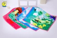 velvet pile small size towel gift