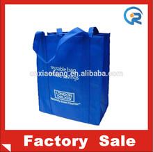 direct factory tote bag/recycle material non woven bag/promo non woven shopping tote bag