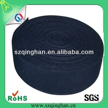 China manufacturer wholesale high elasticity customized wide black elastic band