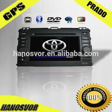 HANOSVOR China Directly Sale Toyota Prado Car DVD GPS Radio Audio