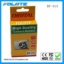 1500mAh Replacement Superb Quality Video Camera battery BP-315 for Canon