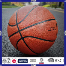 Custom logo promotional best selling inflatable popular design 7# basketball