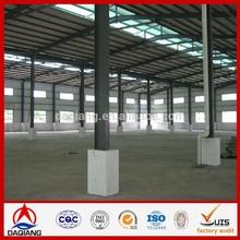 Metal Building Materials light steel structure flat roof design