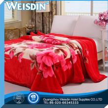 plain made in China coral fleece modacrylic blanket/sheet
