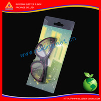 with logo Plastic Blister Packaging with Slip Card