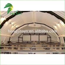Excelente tenda de casamento inflável / inflável gigante tenda bolha