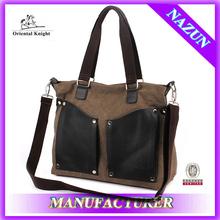 alibaba express shoulder type plain walking fashion travel bag