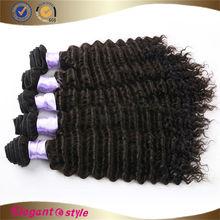 5A Virgin deep curl human hair Brazilian Deep Curl hair , deep curl brazilian hair