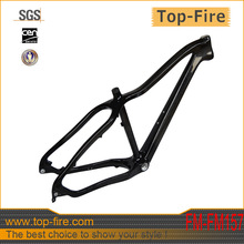 SALE newest 26er carbon fat bike frame with 190x12mm rear axle