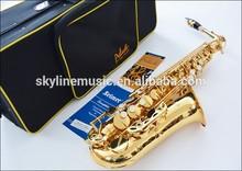 Alto saxophone, Golden lacquer alto saxophone