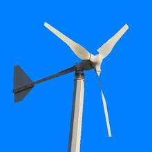 50w de viento generador de turbina. Se combinan con el viento del controlador y el inversor. El certificado del ce de la turbina de viento