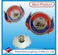 Direct print pin badge metal eagle car badge