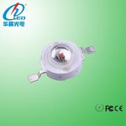 CE,Rohs,FCC 1 Watt epistar chip 620-630nm red high power led grow light diode