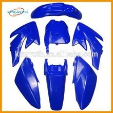 CRF PIT DIRT BIKE FAIRING PLASTICS CRF70 CRF 70 110cc 125cc 140cc 150cc 160cc PITBIKE Blue Color