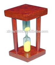 mini wood sand timer/hourglass/sand clock