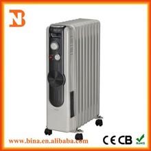 Custom 3000w fan heater oil filled radiator heaters