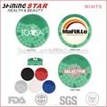 promocionais balas de hortelã da respiração marcas 40 pcs em volta