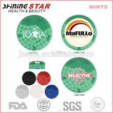 Promotional Mints Breath Mint brands 40pcs in round
