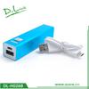 Mobile external portable harga power bank 2600 mah charger