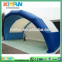 Fashion professional inflatable green tunnel tent canopy